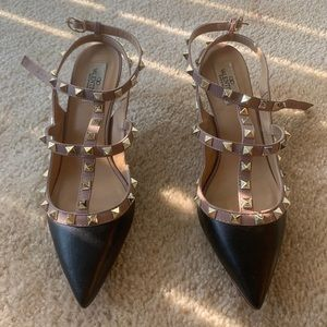 Rock stud Valentino shoes